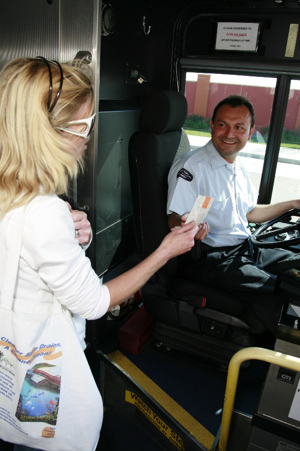Simi Valley Transit Rider and Coach Operator