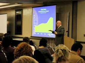 Bill Watkins speaks at the 2011 Simi Valley Business Forum