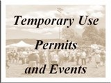 Temporary Use Permits & Events