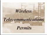Wireless Telecommunications Permits