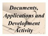 Documents, applications and development