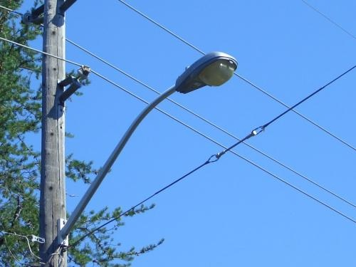 Picture of Streetlight at Top of Pole