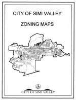 City of Simi Valley zoning maps