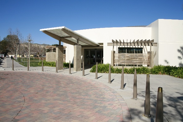 West entrance of the Simi Valley Senior Center