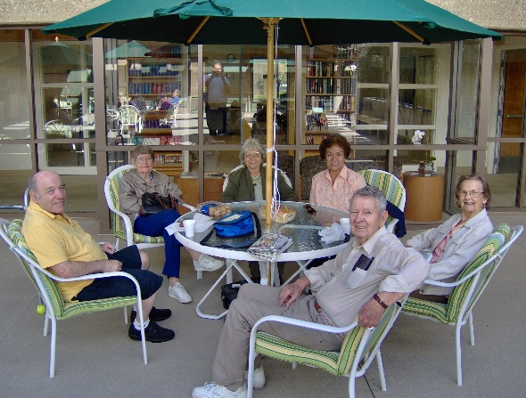 Senior Center Patio Lunch