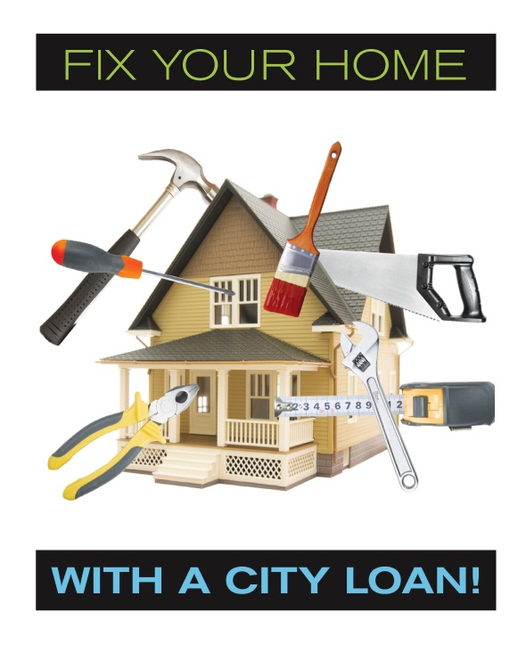 Fix Your Home with a city loan