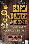50th Barn Dance and Dinner Flyer